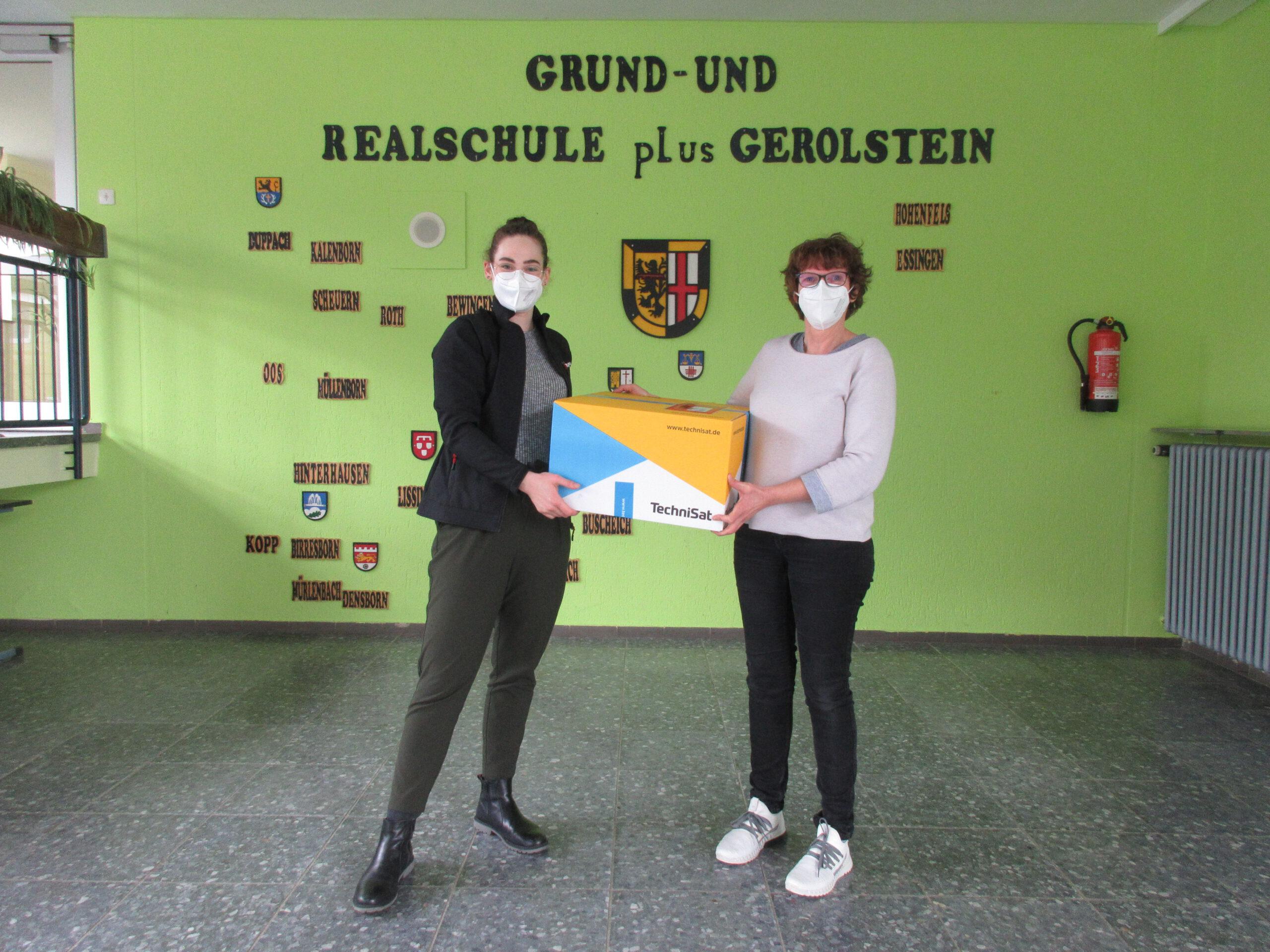Firma TechniSat spendet 1000 FFP2-Masken